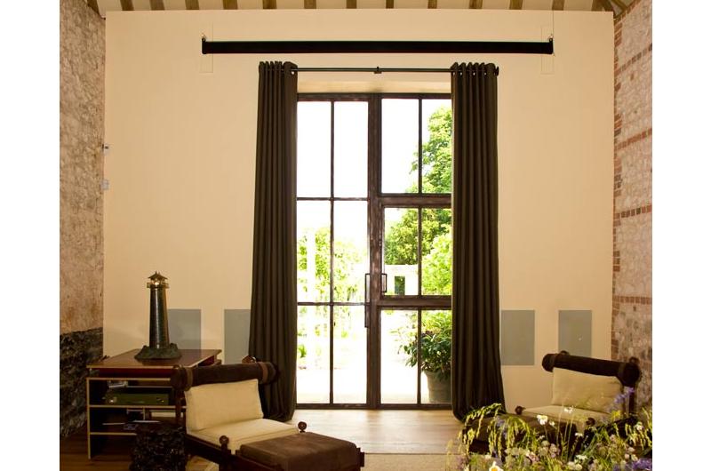 handmade bespoke eyelet curtains