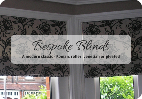 handmade bespoke made to meausre Blinds - Dressing Rooms