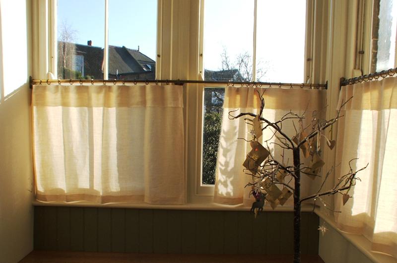 handmade bespoke linen curtains