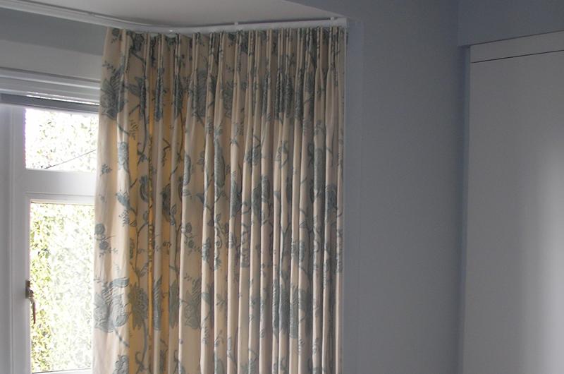 handmade bespoke curtain Silent Gliss bay metropole