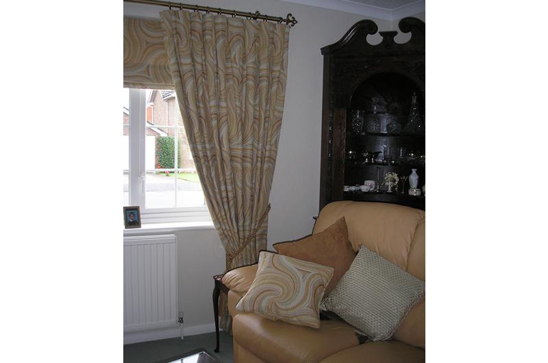 handmade bespoke curtains, blinds cushions