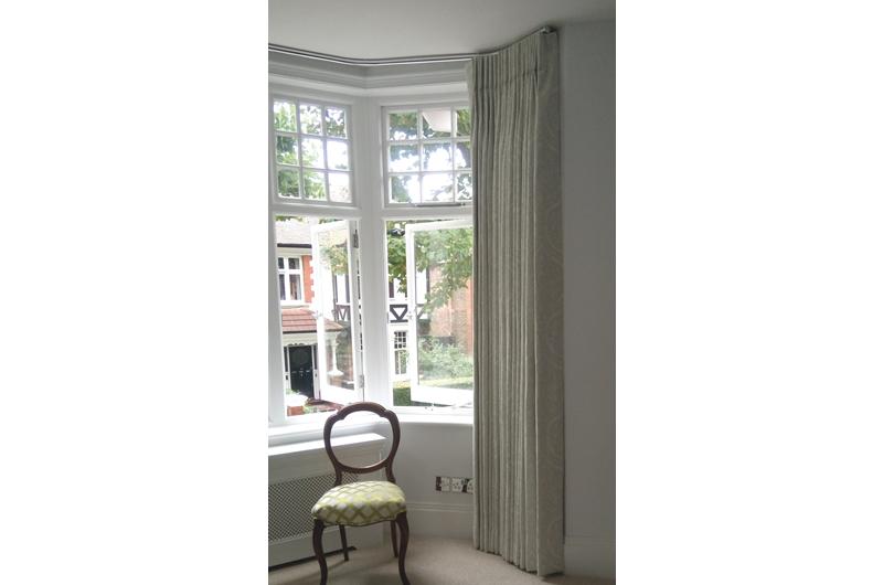 handmade bespoke curtains on bay metropole