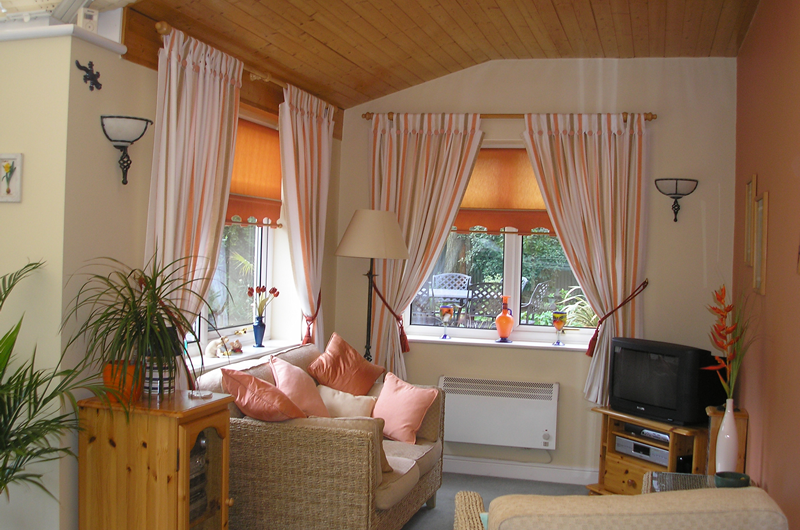handmade bespoke curtains, roller blinds cushions
