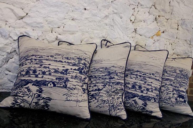 handmade bespoke large scatter cushions