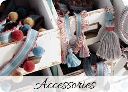 Accessories - Dressing Rooms bespoke curtain makers services