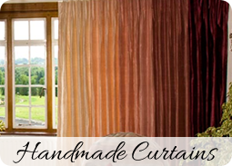 Handmade curtains - Dressing Rooms bespoke curtain makers