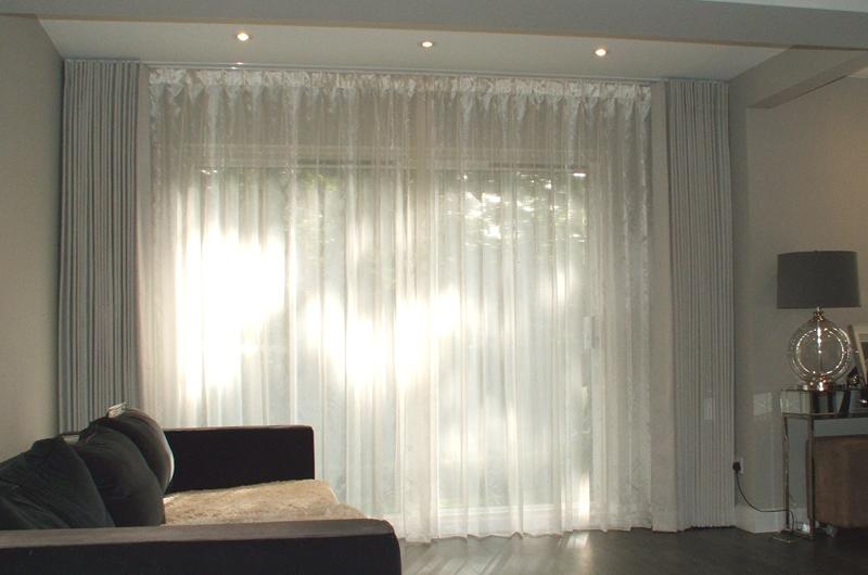 handmade bespoke curtains  voiles