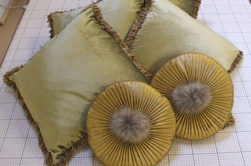 handmade bespoke scatter cushions