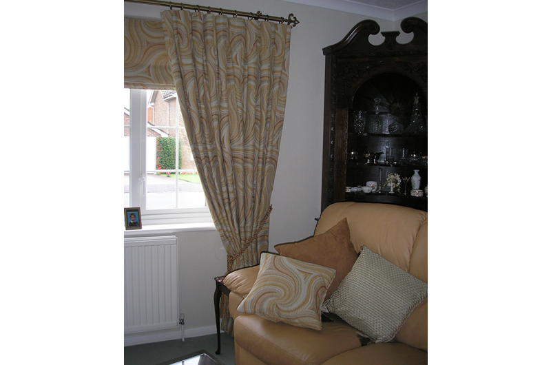 handmade bespoke curtains, blinds cushions