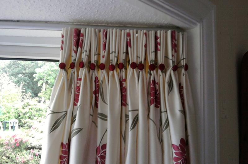 handmade bespoke curtain  buttons