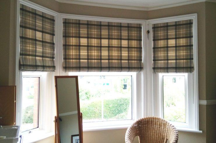 handmade bespoke Roman blinds