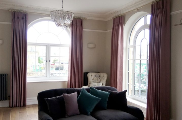 handmade bespoke curtains